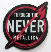 Metallica - 'Through the Never' Woven Patch